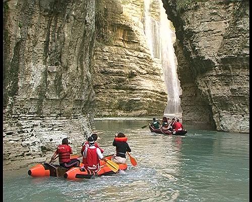Udhëtim në kanionet e Osumit
