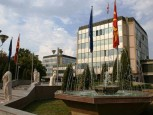 Macedonian governemnt building