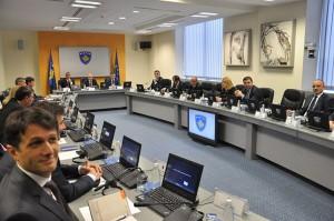 mbledhje qeverie kosove