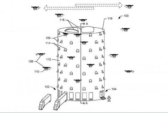 Amazon-Droni
