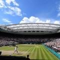 Novak Djokovic (Ser) def Roger Federer (Sui)  Wimbledon 07/07/2014 Tennis Grand Slam  Foto Antoine Couvercelle / Sportmag / Panoramic / Insidefoto