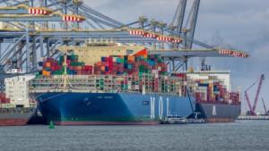 kontenier, eksporte