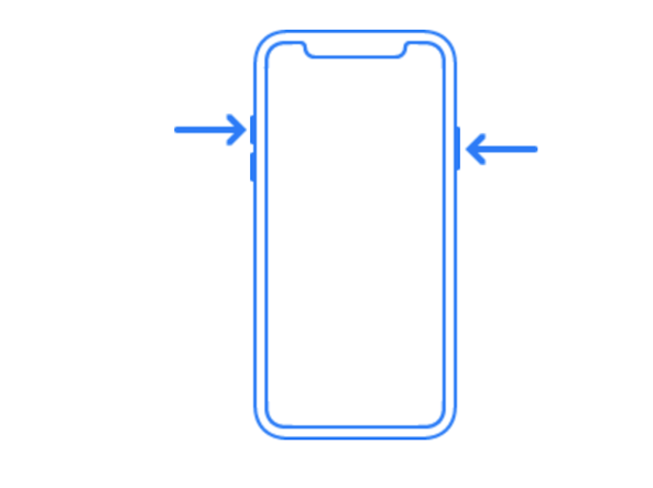 iPhone X - Modaliteti-SOS