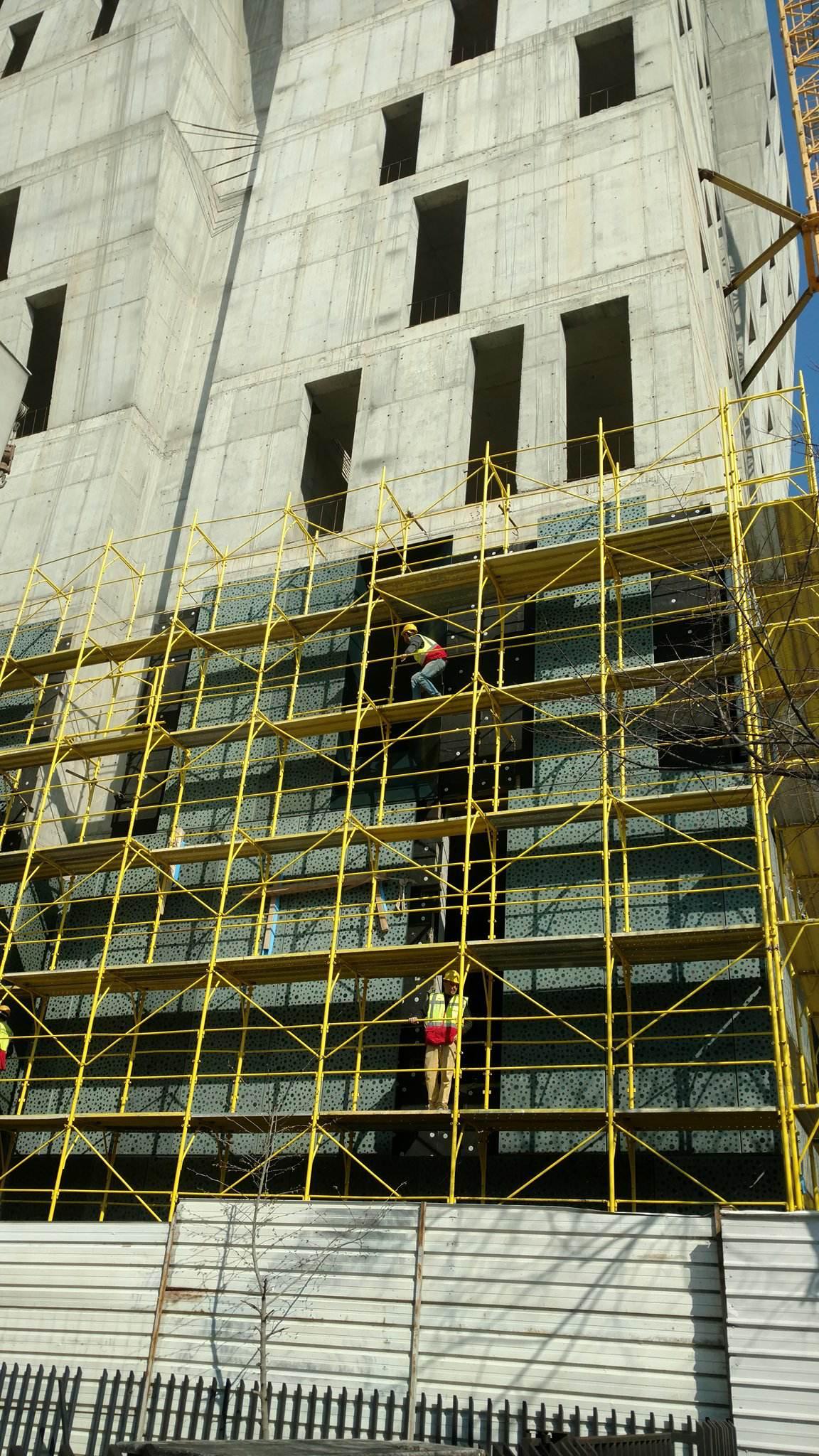 Rinisën punimet në kullën në qendër të Tiranës, 11 kate hotel, të tjerat zyra |Revista Monitor